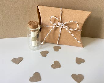 Personalised Message in a Bottle // Love Note // Marry Me // Secret Message // Be My Bridesmaid