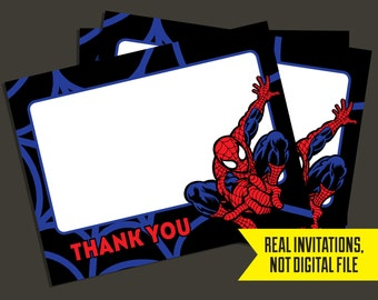 Spiderman Thank You Cards - Spiderman - Thank You