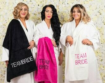 Team Bride Towel