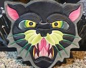 Custom Panther satchel