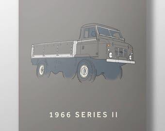 1966 Land Rover Series 2 print
