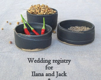 Ilana and Jack Wedding registry - 3 small bowls