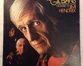 The Gil Evans Orchestra - Plays the Music of Jimi Hendrix 1973 LP Miles Davis RCA Victor