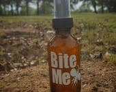 Bite Me Natural Bug Repellent Made With Lemon Eucalyptus Oil Plus Lavender and Peppermint Oil