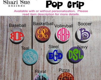 Personalized Grip for Cell Phone, Cell phone grips, pop grip for cell phone, Easter gifts for teens, graduation gifts