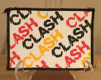 Vintage The Clash Patch