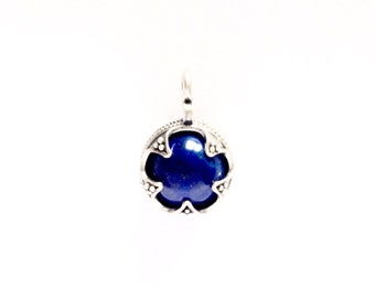 Lapis Lazuli Silver Ball from Gotland VIKING KRISTALL Medieval Pendant
