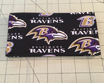 Baltimore Ravens Checkbook Cover