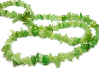 100 chip jade beads PCH6-017