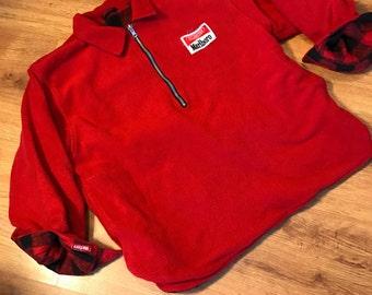 Vintage marlboro reversible  fleece size xxl