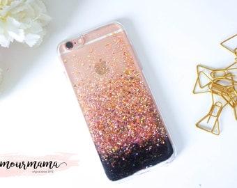 Rose Gold glitter samsung galaxy s7 case glitter iphone 7 case glitter samsung galaxy s7 edge case glitter iphone 7 plus case glitter