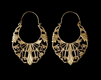 NEW! Beautiful Indian earrings of hoop earrings