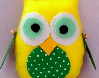 Little owl,soft toy, baby toy,owl,birthday,gift for kids, toy