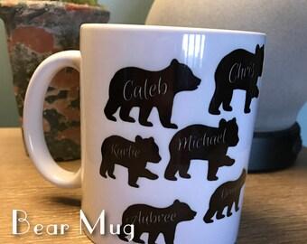 ABN Fundraiser Bear Mug