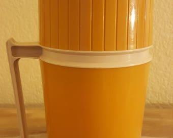 Vintage Orange 10 oz Thermos model 7002