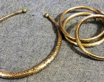 Beautiful Chocker and Bracelet Set