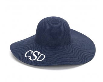 Monogram Floppy Beach Hat