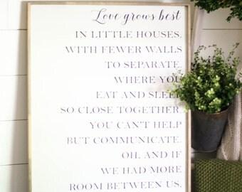 Little houses lyrics Etsy