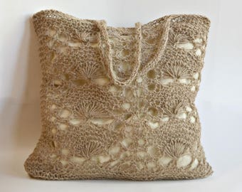 Jute Eco Friendly Lace Market Bag