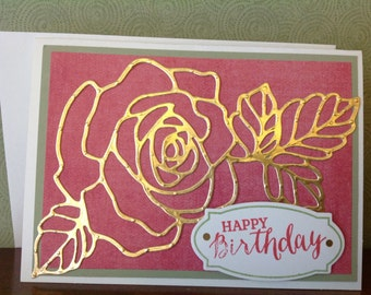 Handmade birthday card-birthday card-happy birthday-