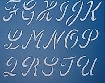 Alphabet Script/Upper Case