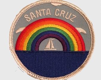 Santa Cruz Rainbow and Sailing Patch
