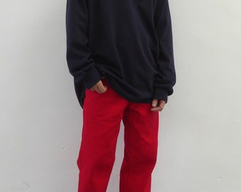 Raver Fit Jeans Red