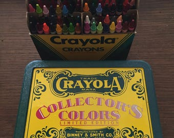 Crayola Limited Edition Tin With 64 Crayons