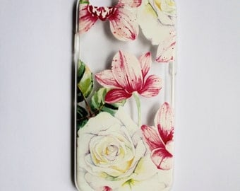 Floral iPhone 5, iPhone 6, and iPhone 7 Case (Soft)