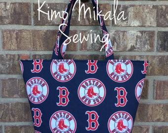 Boston Red Sox Baseball Handbag/Shoulder Bag