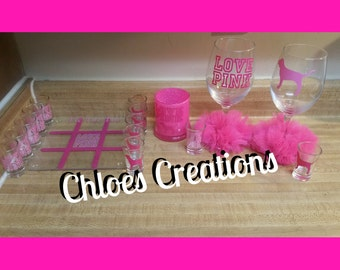 pink by Victoria Secret inspired gift set
