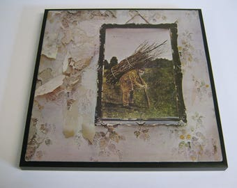 Led Zeppelin Special Unique Wall Framed Record Sleeve/Cover Gift/Present