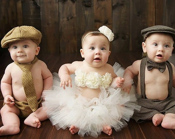 Baby Boy, Cake Smash Outfit, Boy Sitter Outfits, Coming Home Outfit, Baby Boy Prop, Newsboy Outfit, Infant Boy Clothes, Baby Photo Outfit