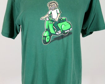 MXPX Green Tee Shirt Size Large