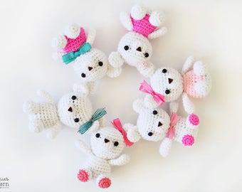 Cute Bears Crochet Pattern - Crochet Bear - Amigurumi Animals - Instant PDF Download