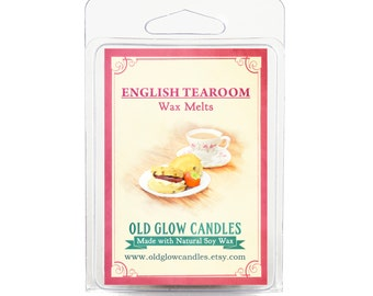 English Tearoom - Scented Soy Wax Melts 80g
