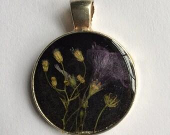 Pressed Flower Pendant