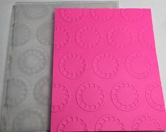 Sale Echo Park Embossing Folder