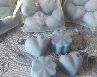 PEPPERMINT highly scented soy wax melts, pack of 4