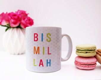 Bismillah Geometric Islamic Mug
