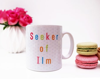 Seeker of Ilm Islamic Dua Mug