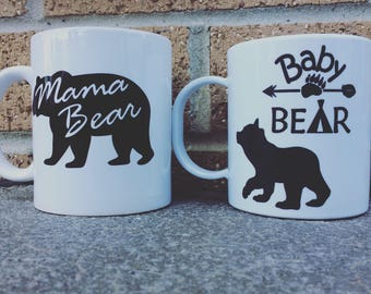 Mama and Baby Bear set