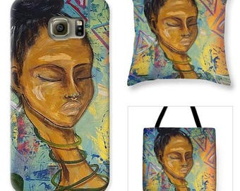Tote Bags, Phone Cases and Throw Pillows