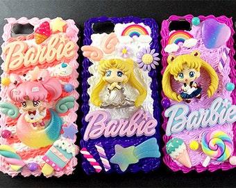 DIY 3D Sailor Moon phone case kit\ decoden kit