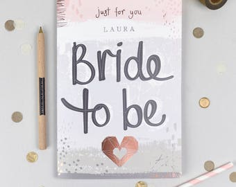 Personalised Hen party guest book. Foil detail. Hen Party gift. Hen Party Guest Book. Bridal Shower Guest Book. UK Seller