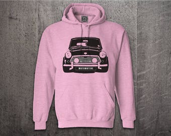 Mini Cooper hoodie, Cars hoodies, Classic Mini hoodies, car hoodie, Graphic hoodies, funny hoodies, Cars t shirts, mini cooper shirts