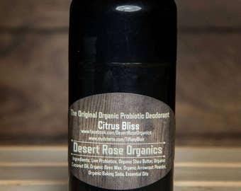 Homemade Probiotic Deodorant