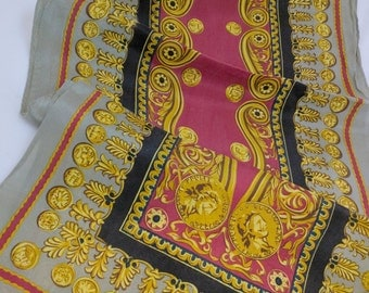 ELAINE GOLD - 100% Pure Silk scarf - Beautiful!!