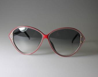 CHRISTIAN DIOR 2384 - 80ER Designer Brills - Eighties - VINTAGE - oversized Eighties women's sunglasses by Dior