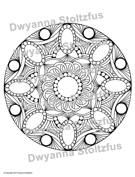 how to sell coloring pages on etsy - gemstones coloring page